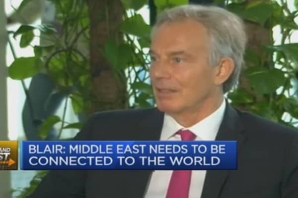 Why I'm optimistic on the Middle East: Tony Blair