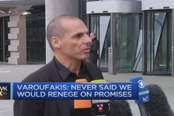 CNBC's run-in with Greece's Varoufakis