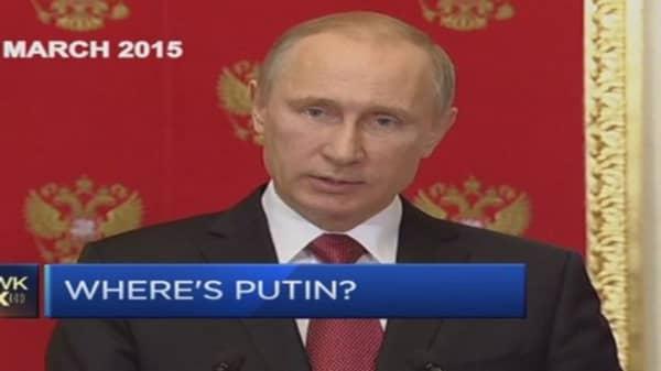Where is President Putin?