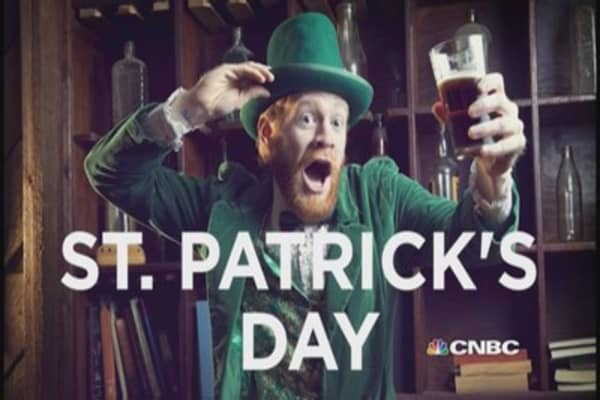 Emergency dental visits spike day after St Patty's