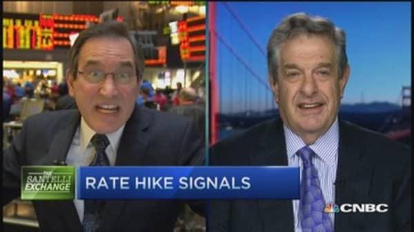 Santelli: Rate hike signals