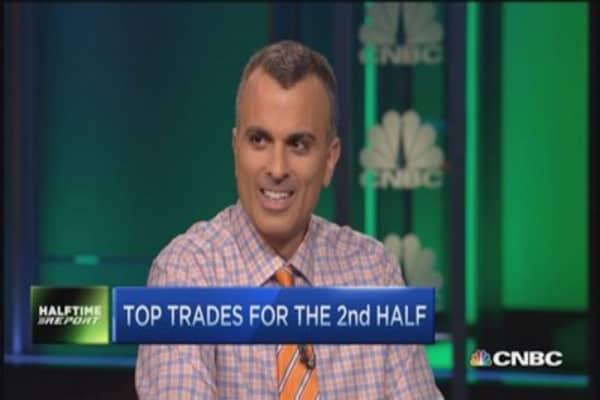 Top 2nd half trades: Disney & health care