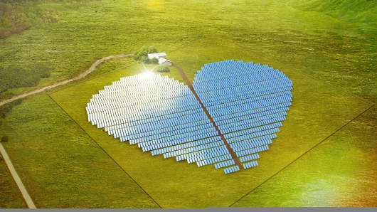 Conergy's 2 megawatt New Caledonia Heart Project, located on the southwest Pacific island of New Caledonia