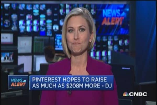 Pinterest now worth $11 billion