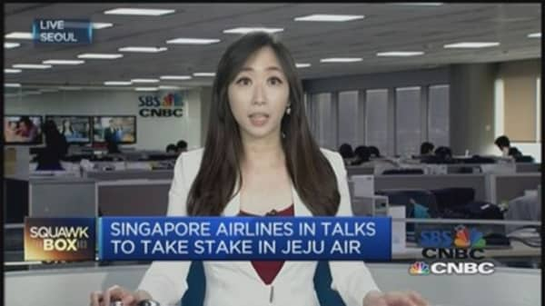 A Singapore Airlines-Jeju Air deal in the making?