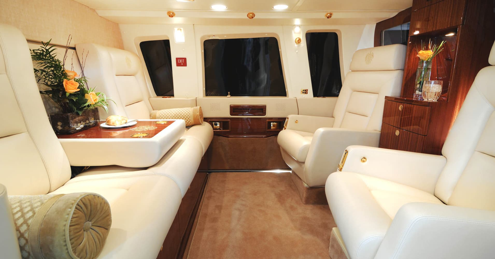 Inside Donald Trump S 7 Million Private Chopper