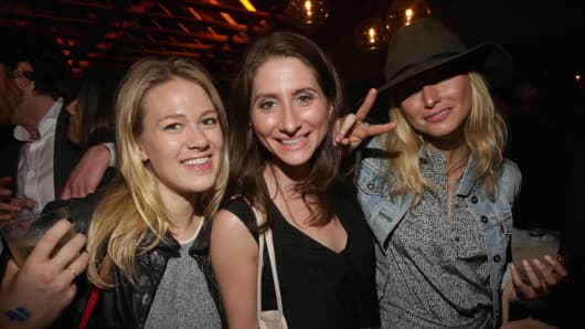 Guests attend The Ally Coalition after-party with AboveAverage @ Soho House Austin with GREY GOOSE Vodka & BMWi pop-up during SXSW on March 16, 2015 in Austin, Texas