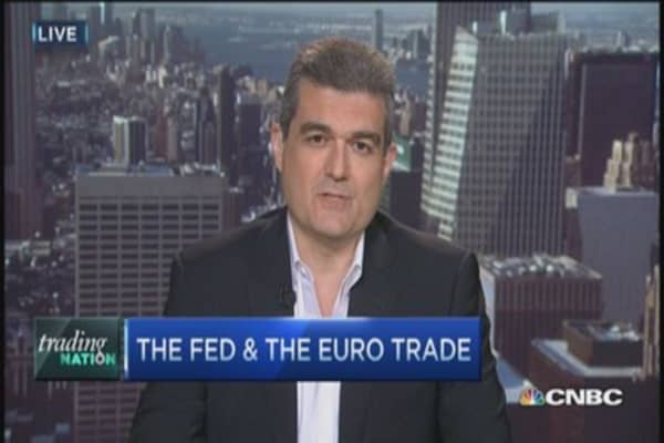 Trading Nation: The Fed & euro trade