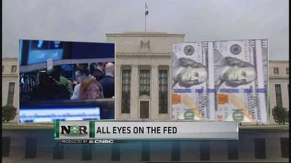 All eyes on the Fed