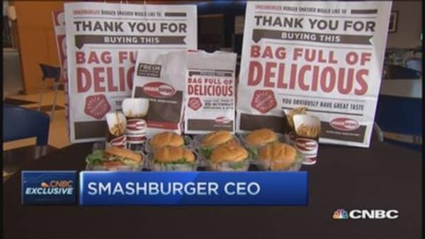 Smashburger's smash technique