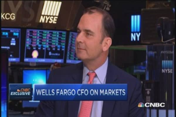 Wells Fargo CFO: Plenty of borrowing