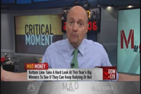 Leaders vs. laggards: Cramer digs in