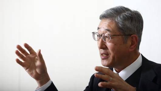 Takahiro Mitani, president of the Government Pension Investment Fund (GPIF)