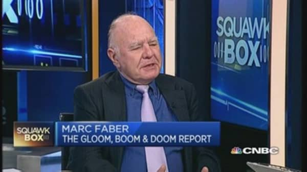 US rate hike this year? No way, says Dr. Doom