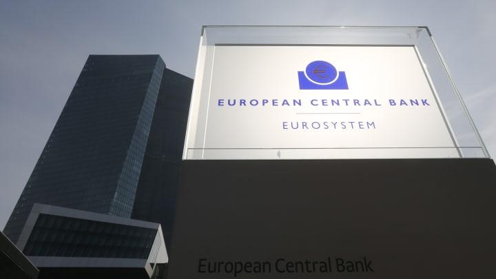 The new ECB headquarters in Frankfurt, Germany.