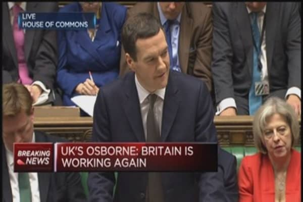 Osborne: We want to lower national debt