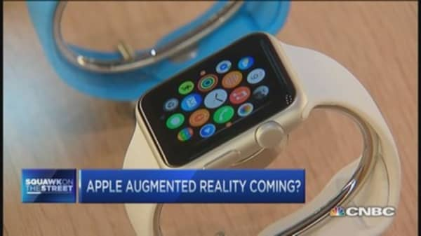 Apple augmented reality coming?
