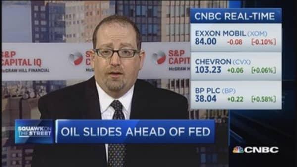 Upside to oil glut?