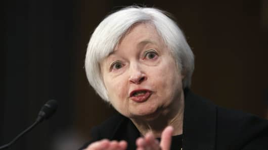 Federal Reserve Board Chairman Janet Yellen