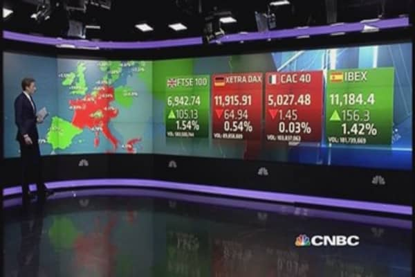 Europe closes mixed; FTSE rallies after Budget speech