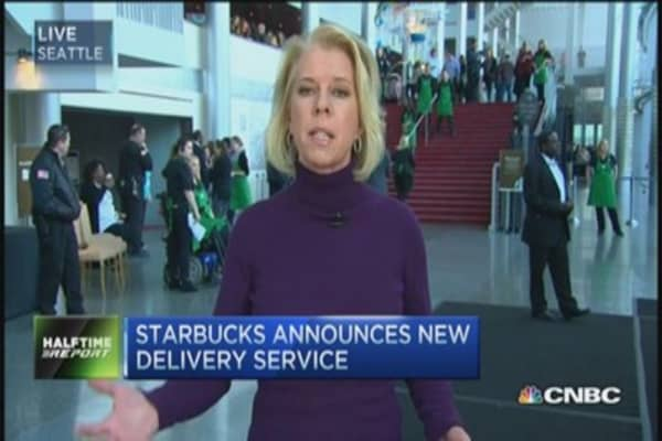 Herd Alert: Starbucks