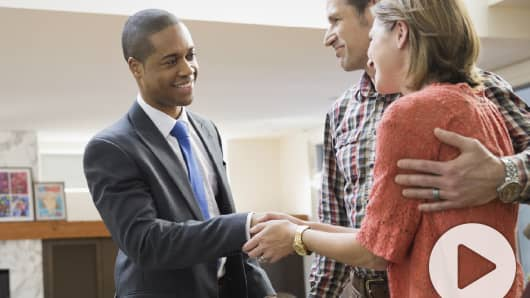 Financial Advisor and clients