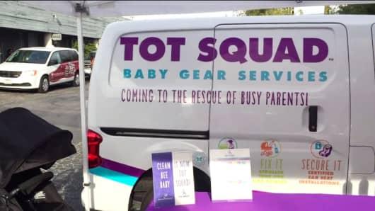 Tot Squad truck
