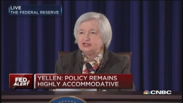 Yellen: Not ruling out April rate hike