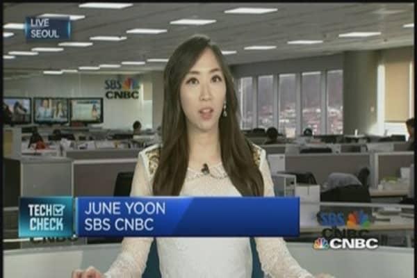 Samsung's stocks near all-time highs