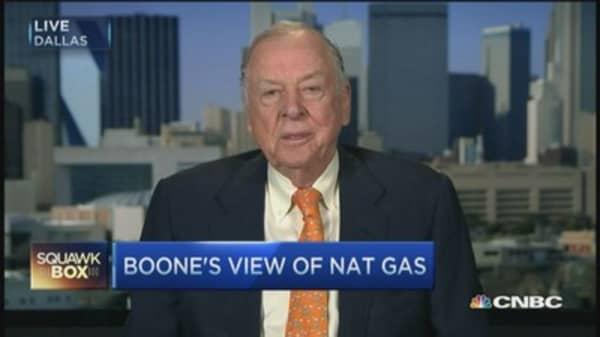 Boone Pickens: We got too much gas