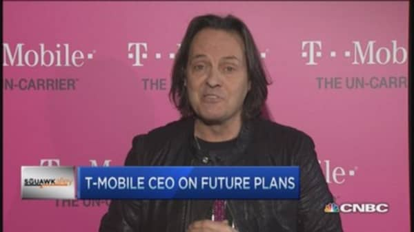 T-Mobile's Legere's carrier freedom push