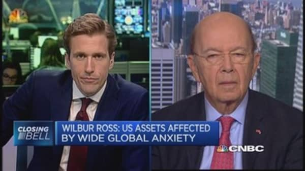 Wilbur Ross: Cheap oil's a gift for Americans
