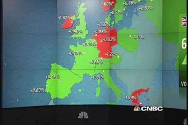Europe shares end mostly higher; oil stocks rally