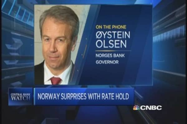 Norges Bank not thinking of going negative