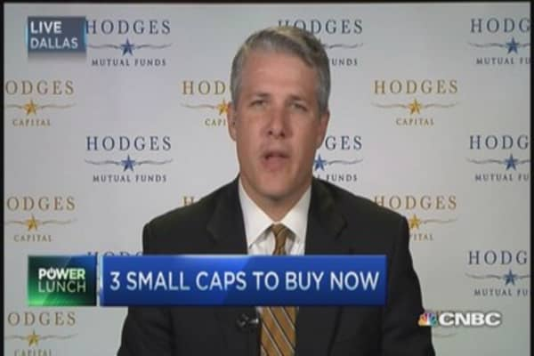 Hunting for small caps