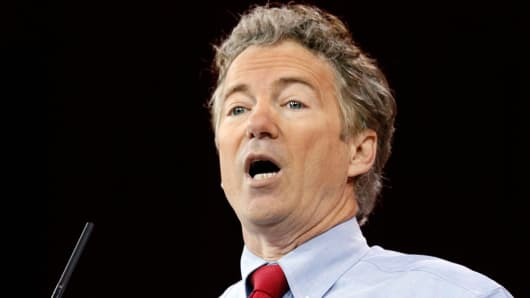Senator Rand Paul of Kentucky