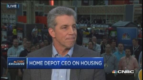 Home Depot CEO: All about innovation, new sells