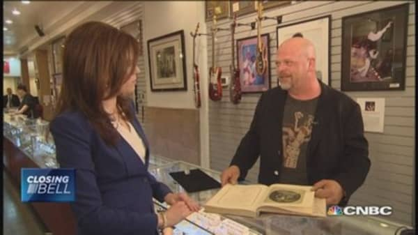 Kelly & the 'Pawn Star'