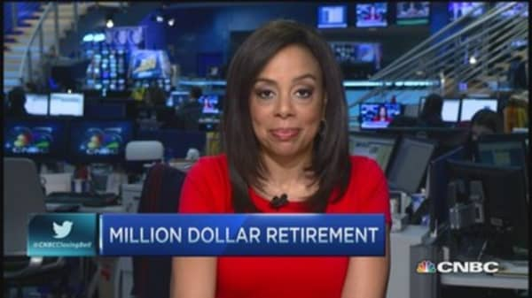 Million dollar retirement