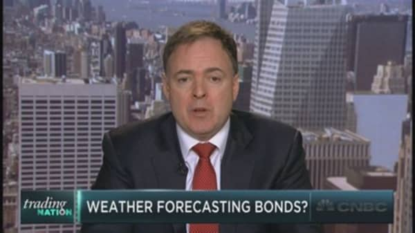 Is the weather forecasting the next bond move?