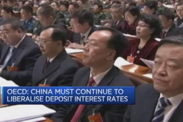 China now in 'cruising speed': OECD's Gurria