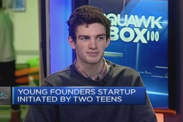 Getting young people to start-up!