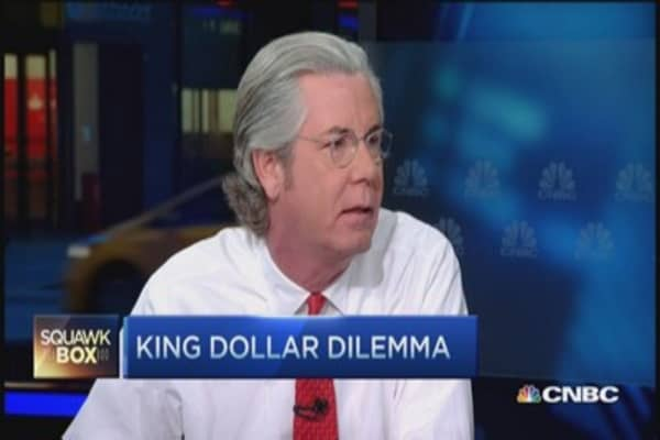 US dollar's 'growth stock' story: Paul McCulley