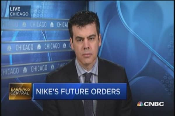 Nike reports mixed Q3 results
