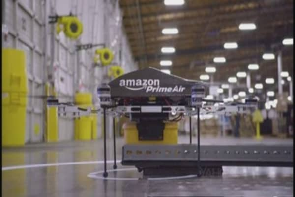 Amazon's faces roadblocks to drone delivery