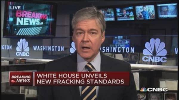 White House: New fracking standards