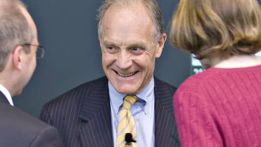 Greenwich Associates founder Charles Ellis