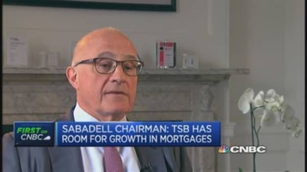 Sabadell: TSB is good bank, in good UK market