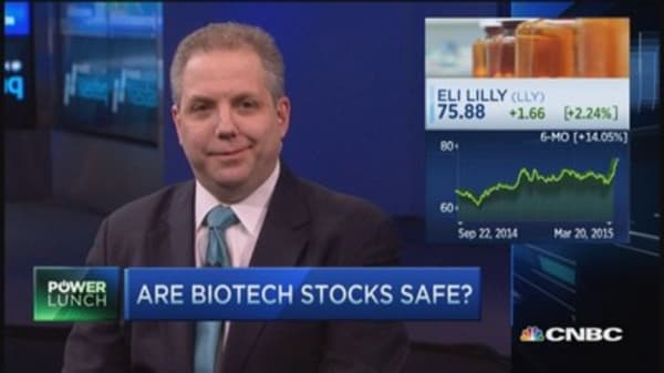 Betting on biotechs