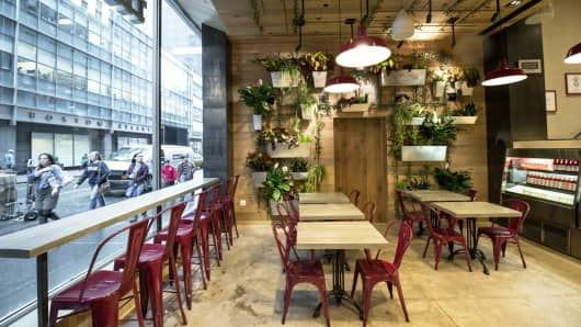 The Little Beet, a fast-casual restaurant in New York City